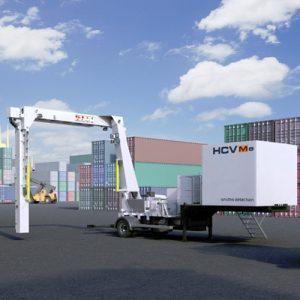 HCVM e35 és HCVM e35 T járműátvizsgáló röntgenberendezések