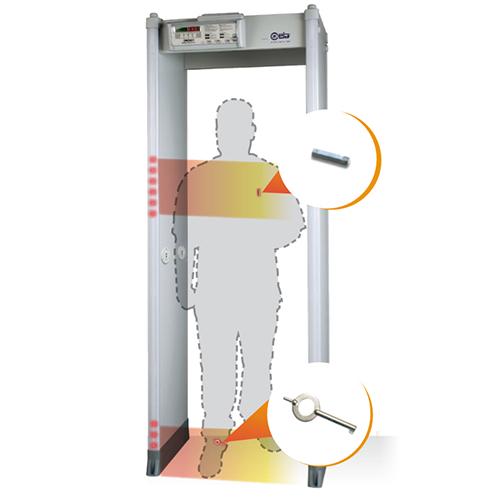 SMD 601 Plus fémkereső kapu