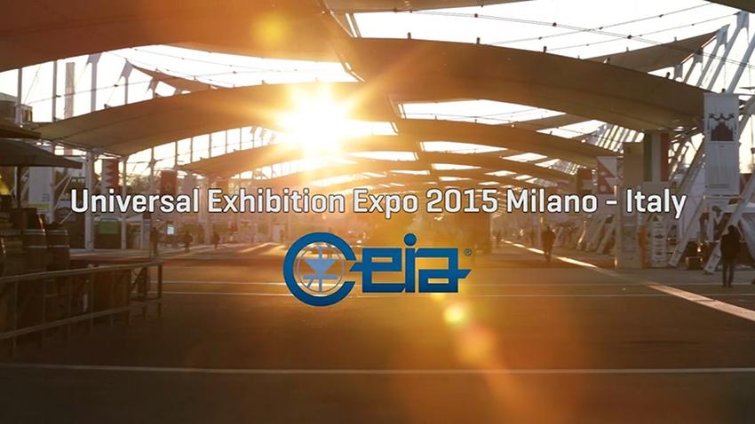 CEIA fémdetektorok a Milánói Világkiállításon