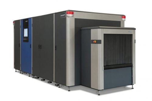 HI-SCAN 10080 XCT repülőtéri check-in berendezés