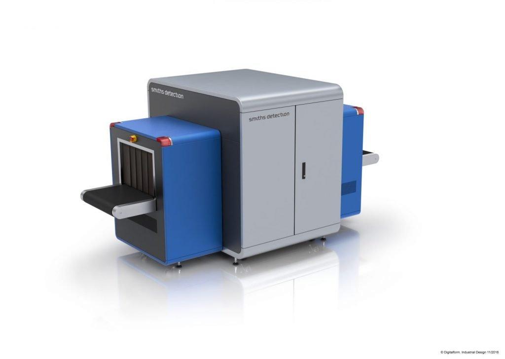 HI-SCAN 6040 CTiX csomagröntgen orvosi CT technológiával megfelel a legújabb európai és amerikai szabványoknak is